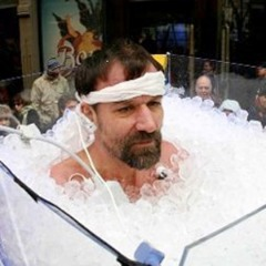 Wim Hof ice bath record