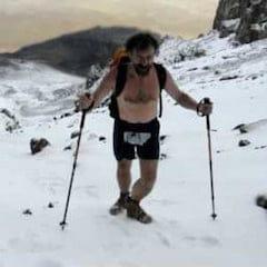 Wim Hof Climbing Kilimanjaro