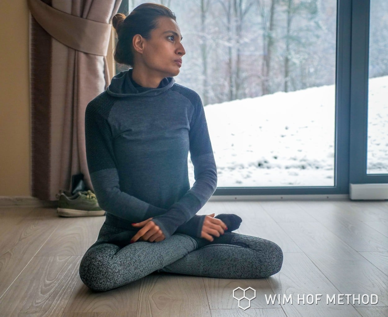 Meditating in Poland