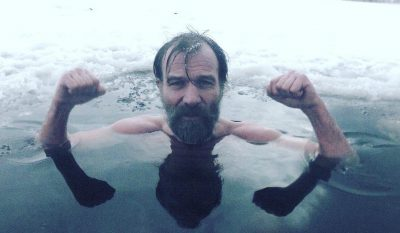 Wim Hof can do arms